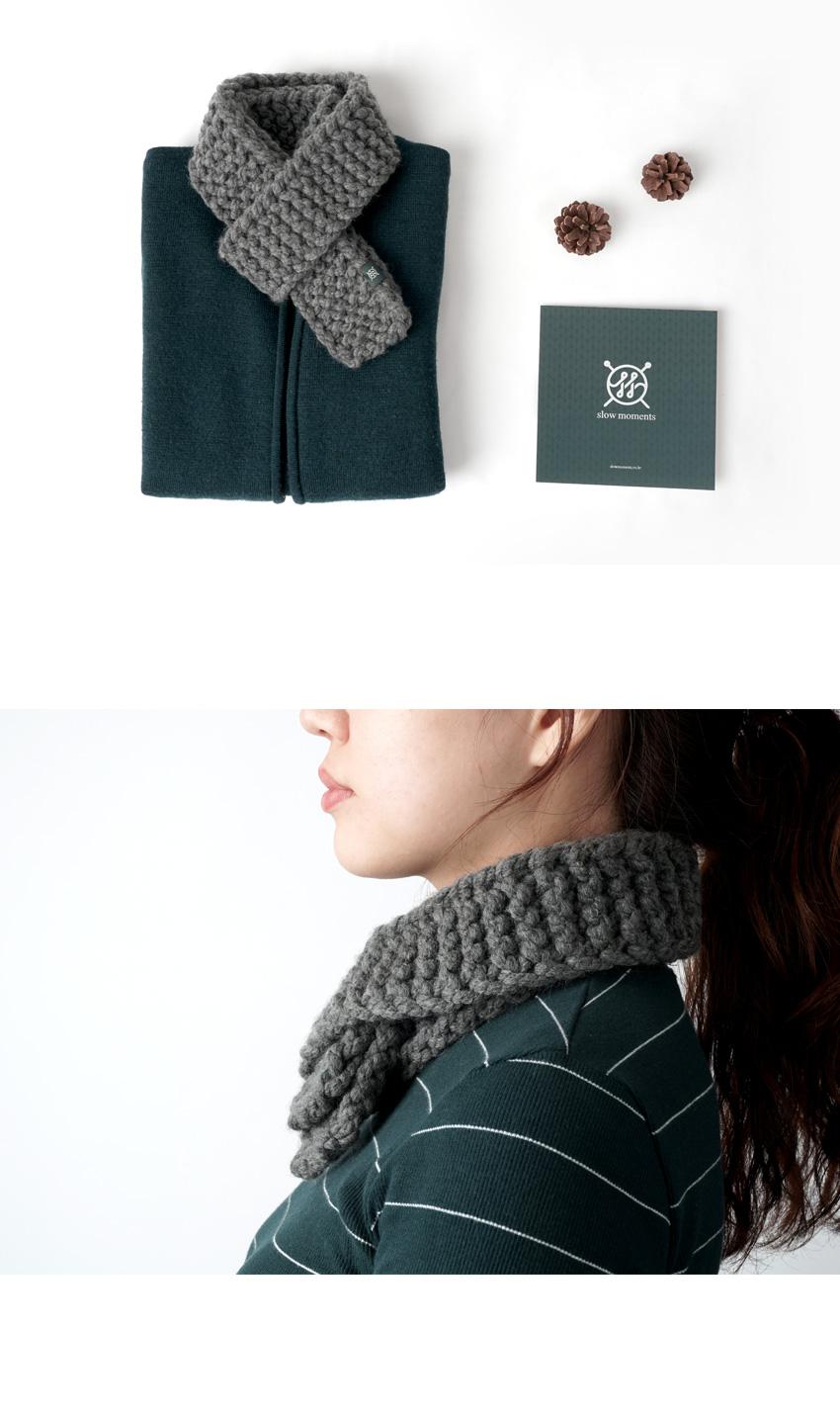 브리짓 머플러 - 대바늘 키트 - 슬로우모먼츠, 15,600원, 뜨개질, 소품 패키지